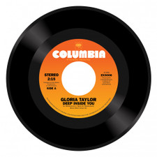 "Gloria Taylor - Deep Inside Of You / World That's Not Real - 7"" Vinyl"