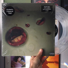 Death Grips - Year Of The Snitch - LP Clear Vinyl