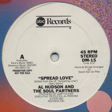 "Al Hudson & The Soul Partners - Spread Love - 12"" Vinyl"