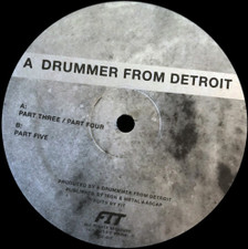 "A Drummer From Detroit - Drums #2 - 12"" Vinyl"