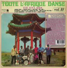 The Soul Kids - Toute L'Afrique Danse Vol. 10 - LP Vinyl