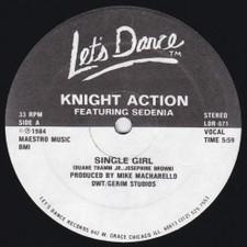 "Knight Action - Single Girl - 12"" Vinyl"