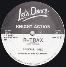 "Knight Action - R-Trax / D-Rail - 12"" Vinyl"