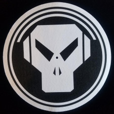 Metalheadz - White On Black Logo - Single Slipmat
