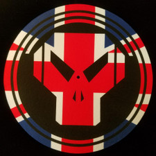 Metalheadz - Union Jack Logo - Single Slipmat