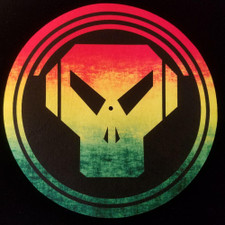 Metalheadz - Rasta Logo - Single Slipmat