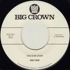 """Holy Hive - This Is My Story / Blue Light - 7"""" Vinyl"""