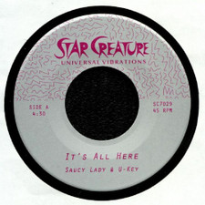 """Saucy Lady - It's All Here - 7"""" Vinyl"""