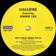 "Gallifre - Set Your Mind To It - 12"" Vinyl"