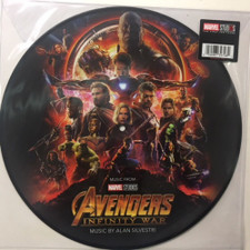 Alan Silvestri - Avengers: Infinity War (Original Motion Picture Soundtrack) - LP Picture Disc Vinyl