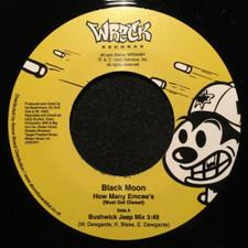 "Black Moon - How Many Emcee's (Must Get Dissed) - 7"" Vinyl"