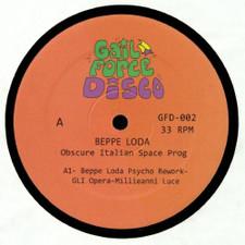 """Beppe Loda - Obscure Italian Space Prog - 12"""" Vinyl"""