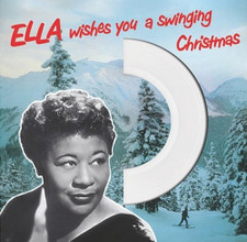 Ella Fitzgerald - Ella Wishes You A Swinging Christmas (Die Cut Jacket) - LP Colored Vinyl