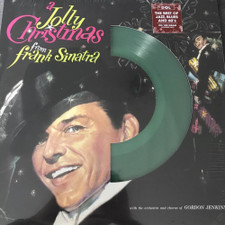 Frank Sinatra - A Jolly Christmas (Die Cut Jacket) - LP Colored Vinyl