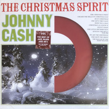Johnny Cash - The Christmas Spirit (Die Cut Jacket) - LP Colored Vinyl