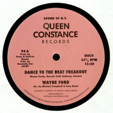 "Wayne Ford - Dance To The Beat Freakout - 12"" Vinyl"