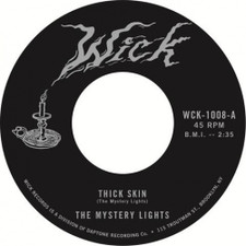"""The Mystery Lights - Thick Skin / In The Darkness - 7"""" Vinyl"""