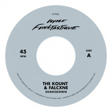 "The Kount & Falxcne - Shakedown / Bungalow - 7"" Vinyl"