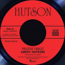 """Leroy Hutson - Positive Forces - 7"""" Vinyl"""