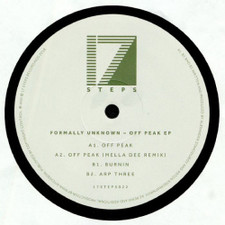 "Formally Unknown - Off Peak Ep - 12"" Vinyl"