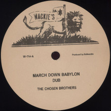"The Chosen Brothers - March Down Babylon - 12"" Vinyl"