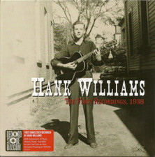 "Hank Williams - The First Recordings, 1938 RSD - 7"" Colored Vinyl"