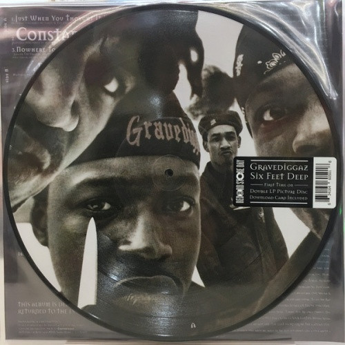 Gravediggaz - 6 Feet Deep RSD - 2x LP Picture Disc Vinyl