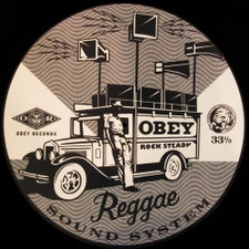 Obey Records - Reggae Sound System - Single Slipmat
