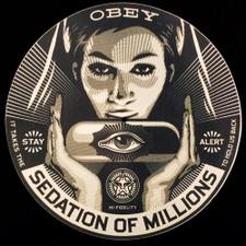 Obey Records - Sedation Of Millions - Single Slipmat