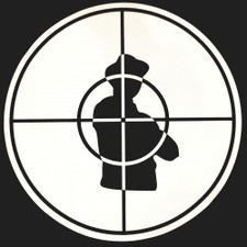 Public Enemy - Crosshairs (Black On White) - Single Slipmat