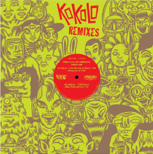 "Kokolo Afrobeat Orchestra / Los Terrificos - The Remixes - 12"" Vinyl"