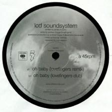 "LCD Soundsystem - Oh Baby (Lovefingers Remix) - 12"" Vinyl"