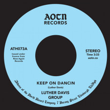 "Luther Davis Group - Keep On Dancin / You - 7"" Vinyl"