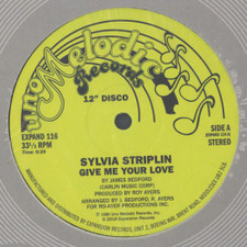 "Sylvia Striplin - Give Me Your Love (official reissue) - 12"" Vinyl"