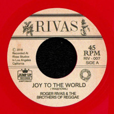 "Roger Rivas & The Brothers Of Reggae - Joy To The World - 7"" Colored Vinyl"