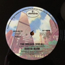 "Kurtis Blow - The Breaks - 12"" Vinyl"