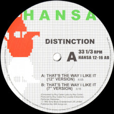 "Distinction - That's The Way I Like It - 12"" Vinyl"