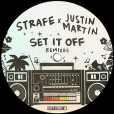 """Strafe - Set It Off (Justin Martin Remixes) - 12"""" Vinyl"""