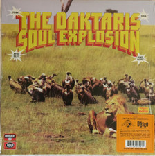 The Daktaris - Soul Explosion - LP Colored Vinyl