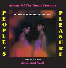 People's Pleasure / Alive & Well - Do You Hear Me Talking To You? - LP Vinyl