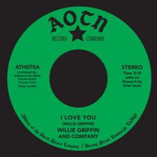 "Willie Griffin - I Love You - 7"" Vinyl"