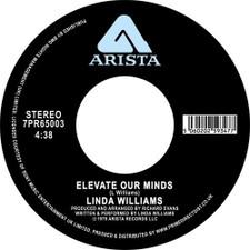 "Linda Williams - Elevate Our Minds - 7"" Vinyl"