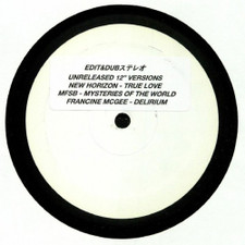 "Edit & Dub - Unreleased 12"" Versions - 12"" Vinyl"
