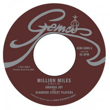 "Diamond Street Players - Million Miles - 7"" Vinyl"