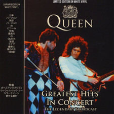 Queen - Greatest Hits In Concert - LP Colored Vinyl