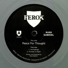 "Russ Gabriel - Peace For Thought - 12"" Colored Vinyl"