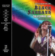 Black Sabbath - California Jam - LP Vinyl