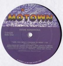 """Eddie Kendricks - Girl You Need A Change Of Mind - 12"""" Vinyl"""