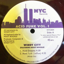 "Windy City - Acid Funk Vol. 1 - 12"" Colored Vinyl"