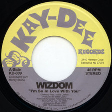 """Wizdom - So In Love With You - 7"""" Vinyl"""